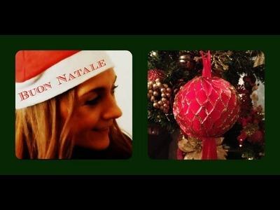 Palle di Natale in carta nido  (Fai da Te. decorazioni) - Arte per Te -