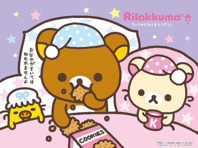 Ragazze Kawaii : Rilakkuma-Orsetto Fimo tutorial (collaborazione speciale) ◕ܫ◕ !!!