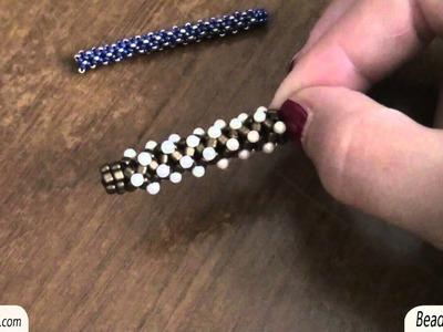 Sarubbest - Spirale Chenille: campioni di spirale Chenille con triangoli, gocce e Rocailles