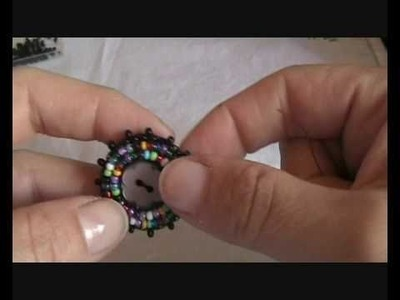 Tutorial embroidery- anello con bottone parte 1
