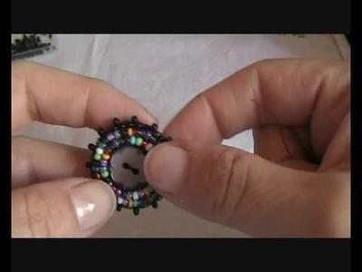 Tutorial embroidery- anello con bottone parte 1