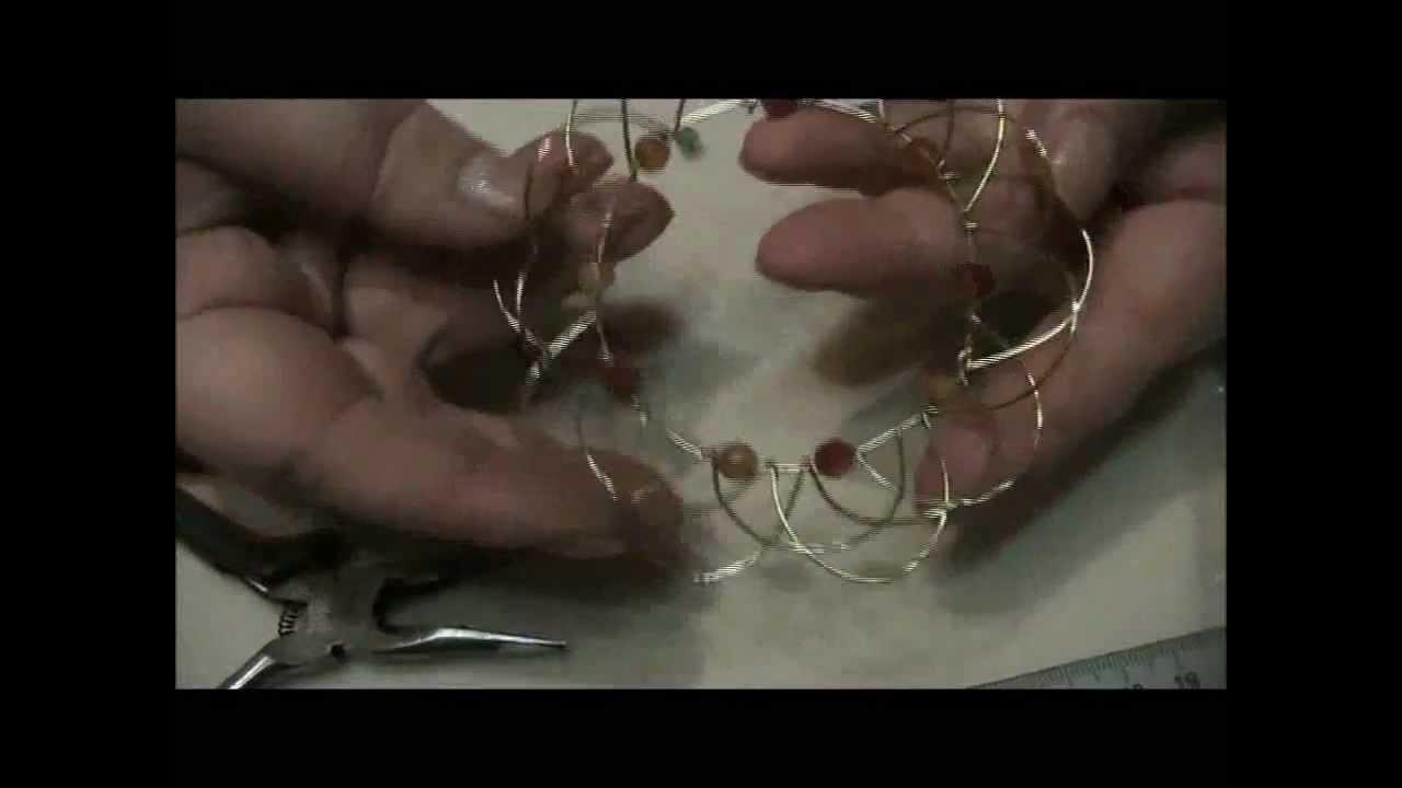 Tutorial mandala wire semplice,  un po' in ritardo ma come promesso eccolo!
