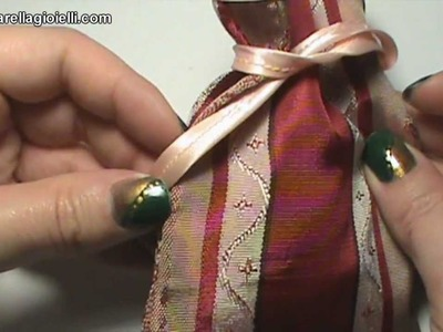 Tutorial sacchetto per gioielli e bomboniere | Gift bag