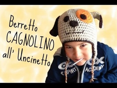 "Berretto ""cagnolino"" all'Uncinetto"
