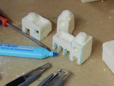 Creare casette presepe - Parte9
