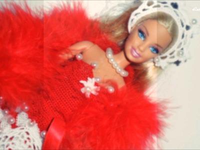 """Lavori artistici all'uncinetto  """"Abiti per Barbie"""""""