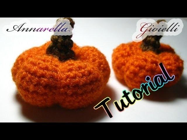 Tutorial amigurumi | Zucca halloween uncinetto