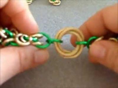Tutorial Chainmaille  - maglia a grappolo e idee per creazioni | orecchini, bracciale, bracelet