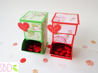 Tutorial: Dispenser per dolci S Valentino - Valentine's Sweets Dispenser