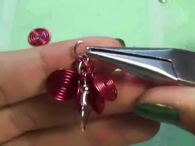 Tutorial: orecchini a grappolo con spirali in wire
