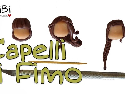 Capelli in Fimo - How to make a polymer clay hairstyle