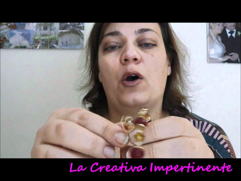 Chiacchere, bracciale herringbone, twin beads e acquistini scrap