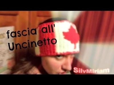 "Fascia ""canada"" - Tutorial Uncinetto"