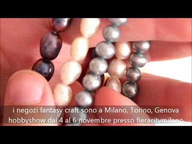 Hobbyshow 2011 - Fantasycraft - PERLE NATURALI - perline bigiotteria