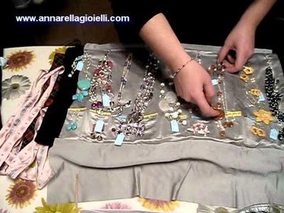 I miei portagioielli | Creazioni cucito | Jewelry handmade holder