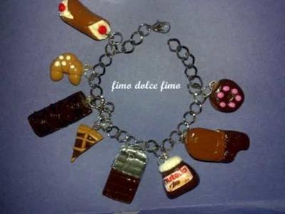 """Le mie creazioni in fimo e perline """"bracciali"""""""