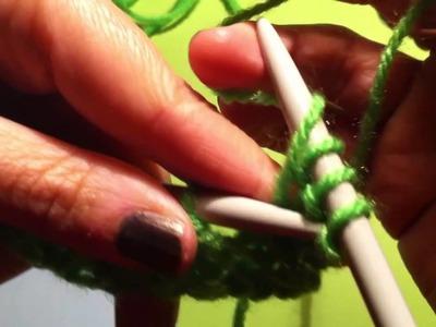 Maglia lezione 5: la maglia gettata