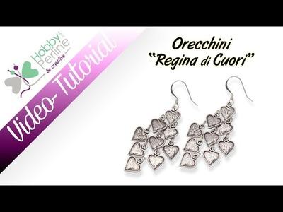 "Orecchini ""Regina di Cuori"" | TUTORIAL - HobbyPerline.com"