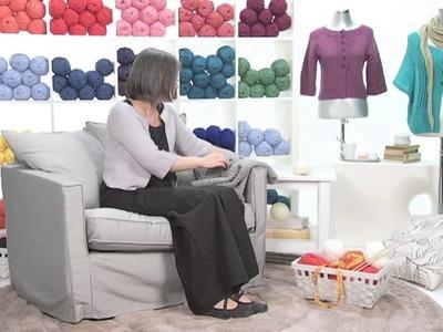 Realizzare a maglia l'aumento dritto-davanti-dietro. Presenta Emma Fassio