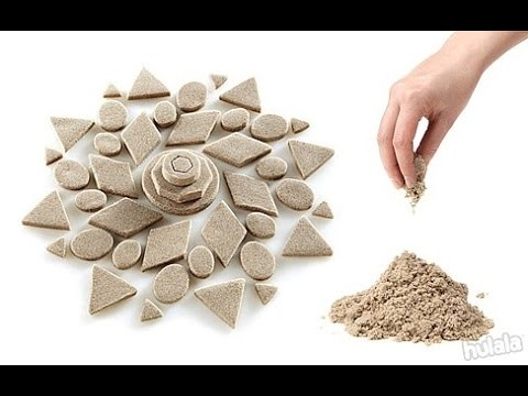 TUTORIAL: KINETIC SAND - La Sabbia Magica!