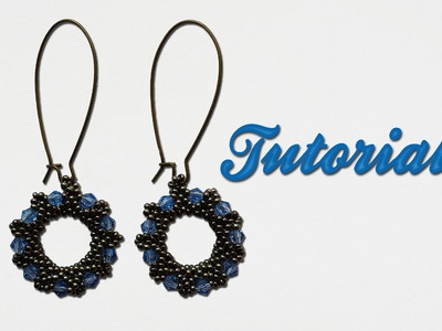 "Tutorial ""Orecchini Ruota"" - Donut Earrings - DIY - Feat. Pandahall"