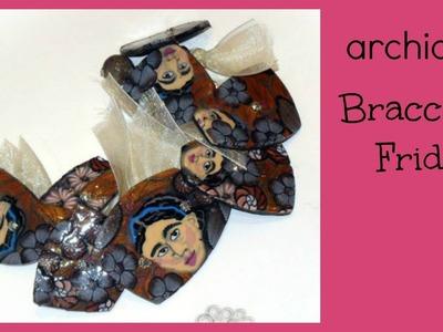 Tutorial | Polymer Clay | Bracciale con Tessere Poligonali | Brown Frida | DIY Bracelet
