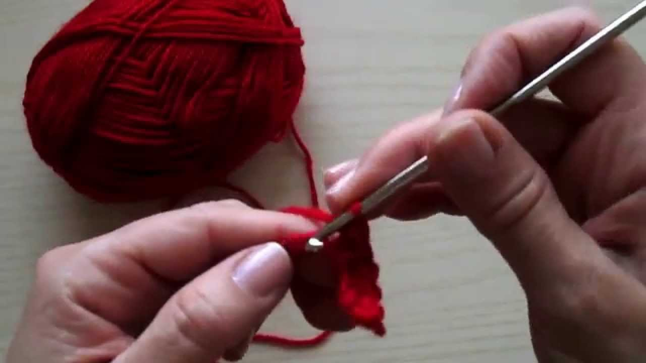 Uncinetto Lezione 3 Maglia Bassa - Crochet Lesson 3 Single Crochet (sc)