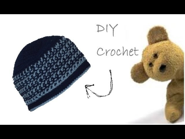 Bright Stripes Crochet Beanie - Cappello per Bimbi all'Uncinetto (ENG SUBS)