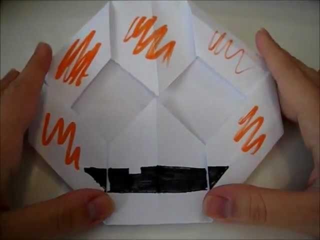 """Halloween series 1"": zucca con origami!"