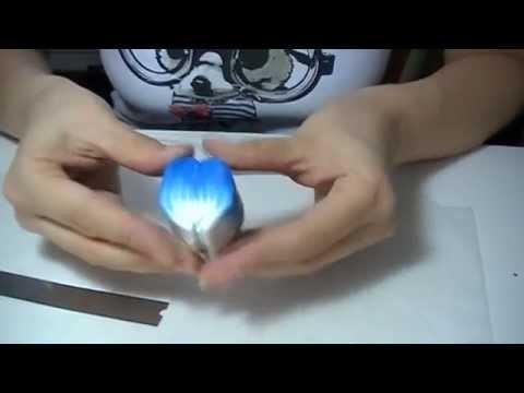 Millefiori canes: Fiore Blu (polymer clay tutorial)