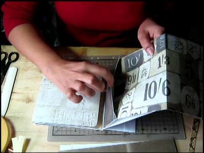 Scrapbooking con buste da lettera ad apertura dall'alto.