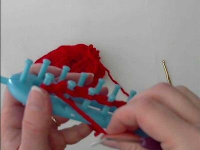 Scuola di Knitting Loom 8:  Punto Rasato Rovescio o Purl Stitch