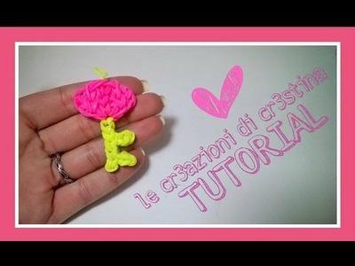 Tutorial La Chiave del Mio Cuore con Elastici RAINBOW LOOM - DIY San Valentino Key Charm