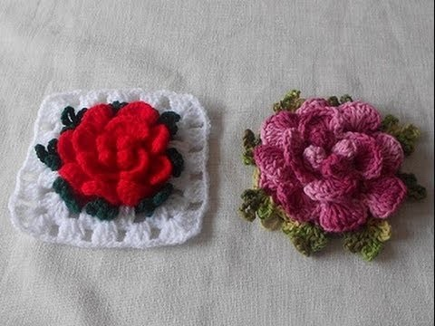 Uncinetto Crochet Fiore Barbara