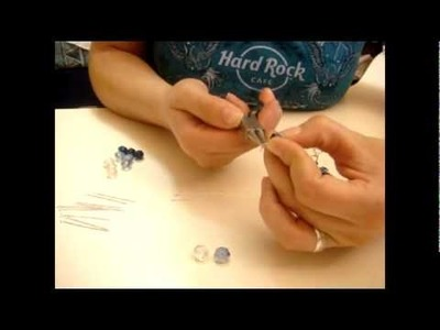 COLLANA STRASS centrale CRISTALLI briolette CATENE - tutorial - FANTASY CRAFT: parlano di noi