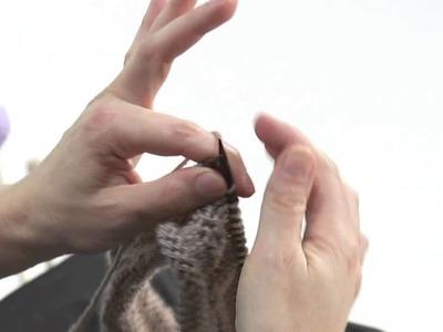 Lavorare a maglia con il punto dritto. Presenta Emma Fassio
