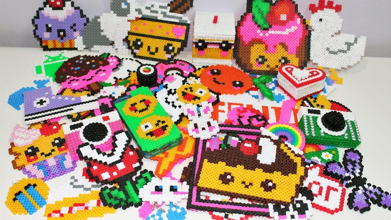 ♡ Le Mie Creazioni Con Le Hama Beads( Pyssla )