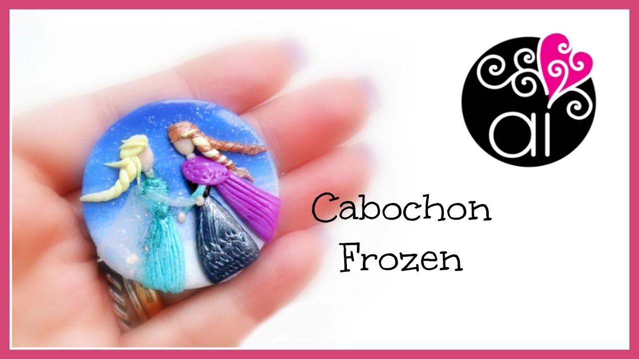 Miniatura di Frozen | Elsa e Anna con Tecnica Applique | Polymer Clay