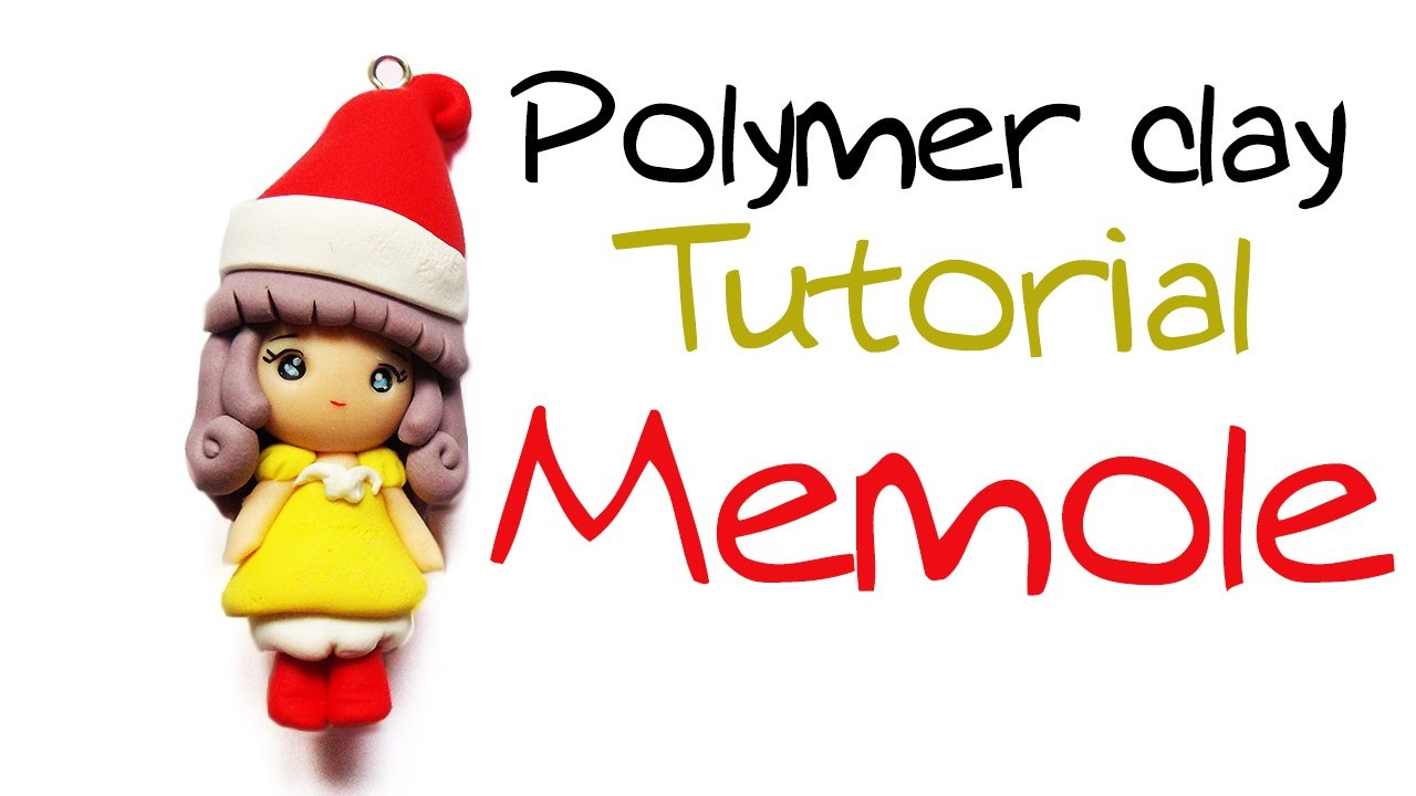 Tutorial Fimo Memole ✿ Polymer clay Tutorial