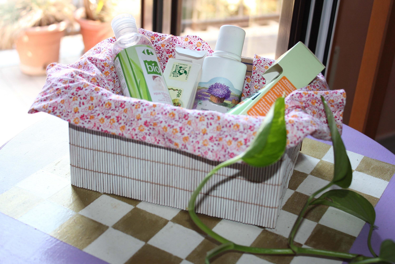 Come decorare una scatola di cartone -Riciclo creativo