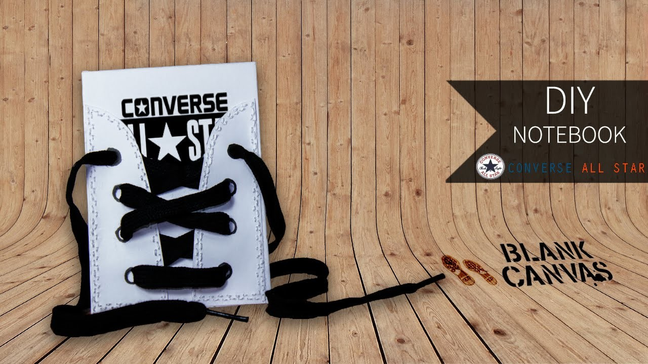 DIY Notebook - Converse ★ All Star
