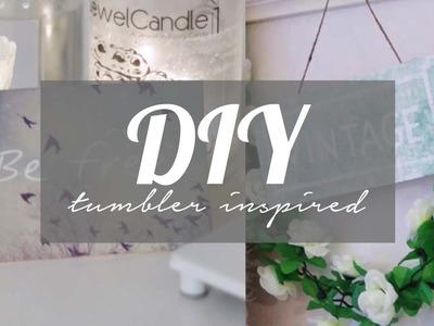 DIY - Tumblr plates ♥