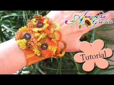 Tutorial Bracciale Gotico all'uncinetto | How to crochet a bracelet
