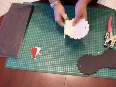 Creare un minialbum da una mascherina sizzix