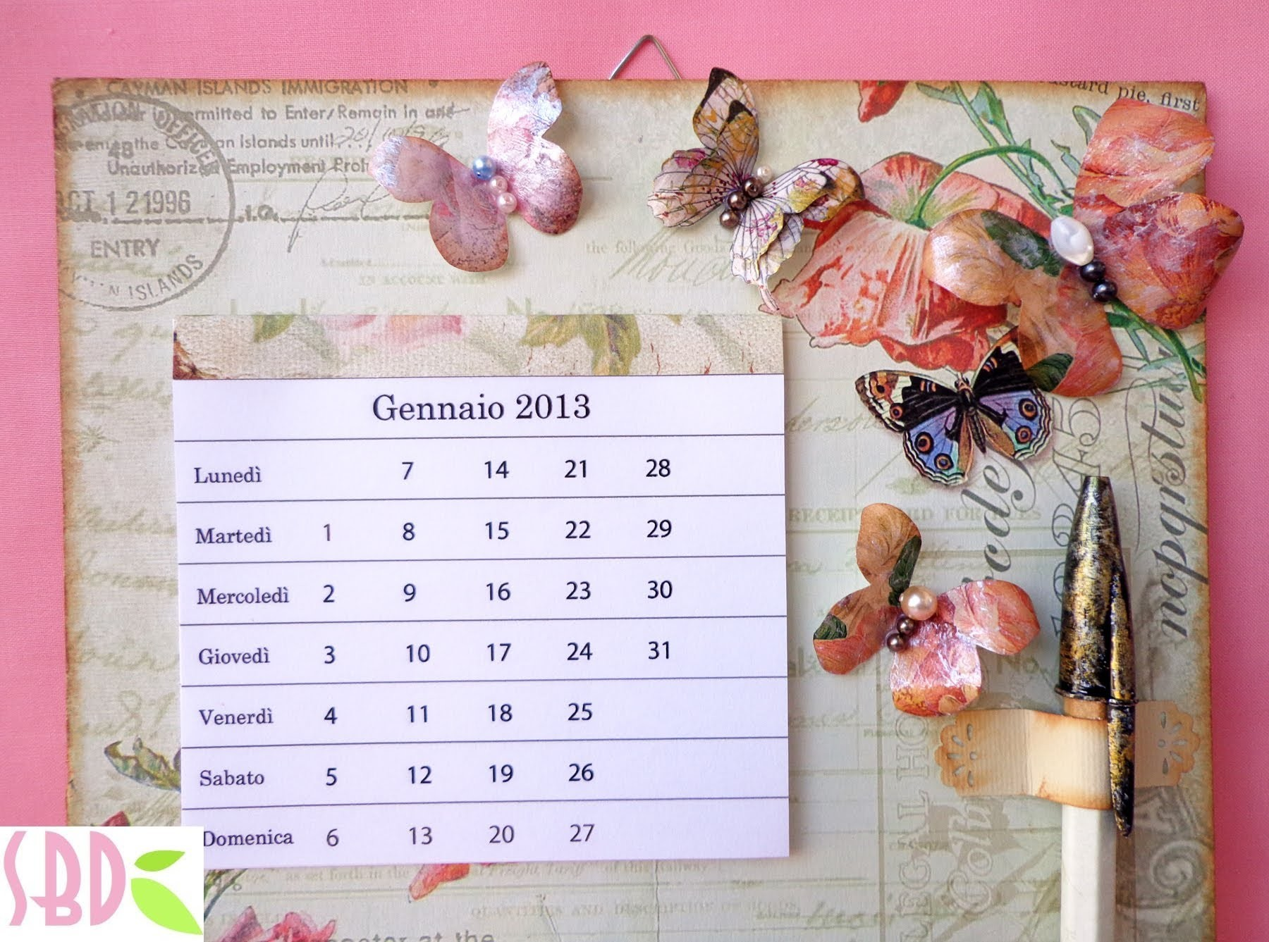 Memo da parete shabby - Wall shabby memo, My Crafts and DIY Projects