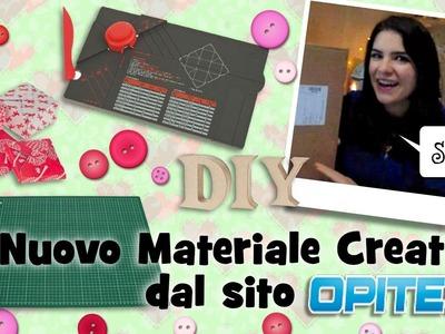 Nuovo Materiale Creativo dal sito Opitec!! Un pacco gigantesco!!