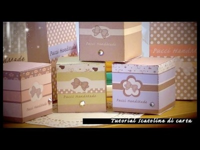 Paper Bag Tutorial . .  scatolina handmade