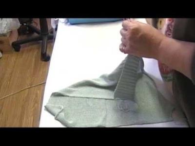 Primo progetto stiratura maglia a macchina