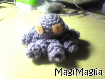Traduzione Tutorial Pulpo Octopus Amigurumi di Lanasyovillos - MagiMaglia