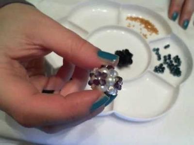 Tutorial- Ricamiamo una sferetta con i cristalli!